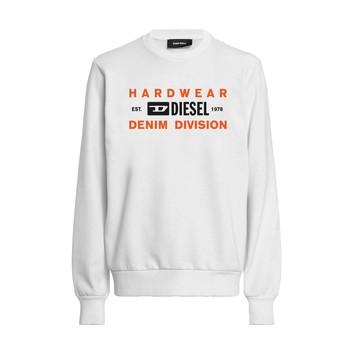 textil Pojkar Sweatshirts Diesel SGIRKK10 Vit