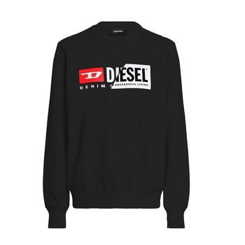 textil Barn Sweatshirts Diesel SGIRKCUTY Svart