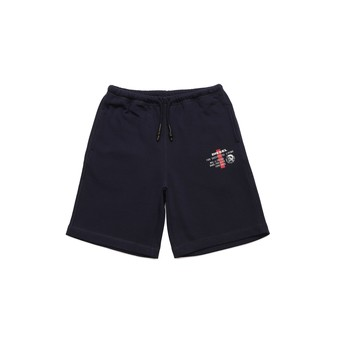 textil Pojkar Shorts / Bermudas Diesel PEDDY Blå