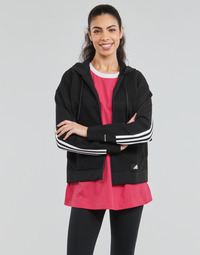 textil Dam Sweatshirts adidas Performance W Knit V Hoodie Svart