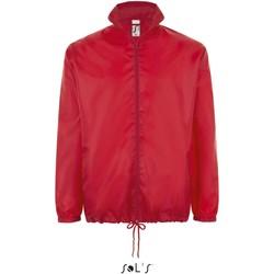 textil Vår/höstjackor Sol's Coupe-vent  Shift rouge
