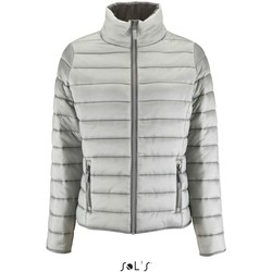 textil Dam Täckjackor Sol's Doudoune femme  Ride gris métallique