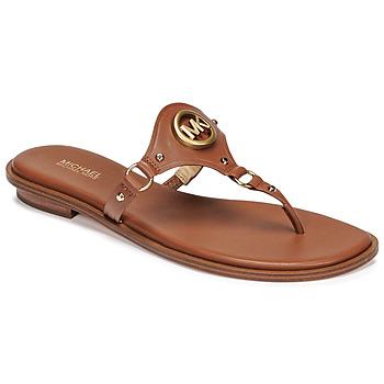 Skor Dam Flip-flops MICHAEL Michael Kors CONWAY SANDAL Cognac