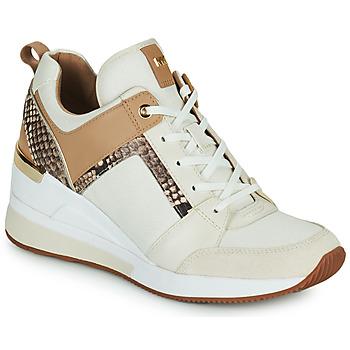 Skor Dam Sneakers MICHAEL Michael Kors GEORGIE TRAINER Beige