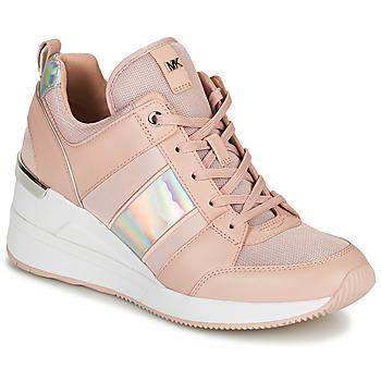 Skor Dam Sneakers MICHAEL Michael Kors GEORGIE TRAINER Rosa