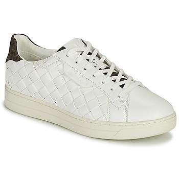 Skor Dam Sneakers MICHAEL Michael Kors KEATING LACE UP Vit / Brun