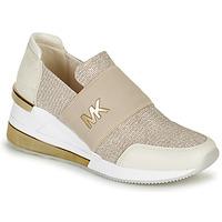 Skor Dam Sneakers MICHAEL Michael Kors FELIX TRAINER EXTREME Champagne