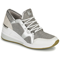 Skor Dam Sneakers MICHAEL Michael Kors LIV TRAINER Silver
