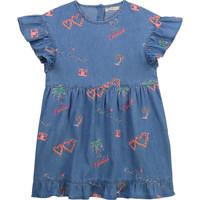 textil Flickor Korta klänningar Billieblush / Billybandit U12640-Z10 Blå