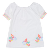 textil Flickor Korta klänningar Billieblush / Billybandit U12657-10B Vit