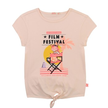 textil Flickor T-shirts Billieblush / Billybandit U15852-44F Rosa