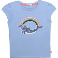 textil Flickor T-shirts Billieblush / Billybandit U15875-798 Blå