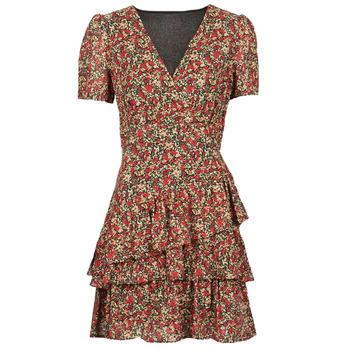 textil Dam Korta klänningar Moony Mood  Röd