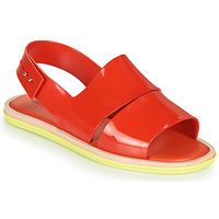 Skor Dam Sandaler Melissa CARBON Röd