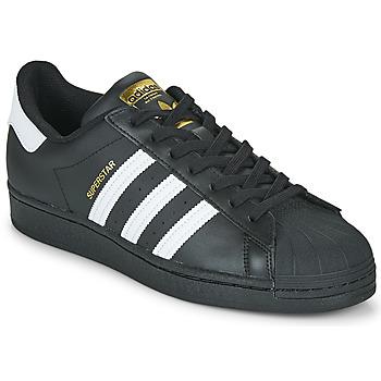 Skor Sneakers adidas Originals SUPERSTAR Svart / Vit