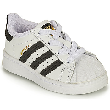 Skor Barn Sneakers adidas Originals SUPERSTAR EL I Vit / Svart