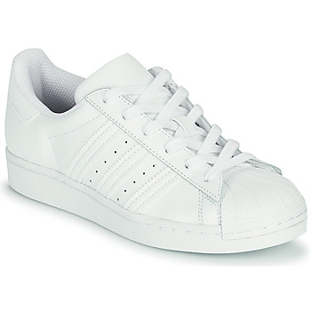 Skor Barn Sneakers adidas Originals SUPERSTAR J Vit