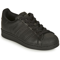 Skor Barn Sneakers adidas Originals SUPERSTAR J Svart