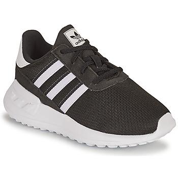 Skor Pojkar Sneakers adidas Originals LA TRAINER LITE EL I Svart / Vit