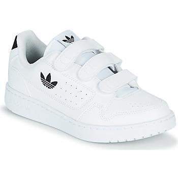 Skor Barn Sneakers adidas Originals NY 92  CF C Vit / Svart