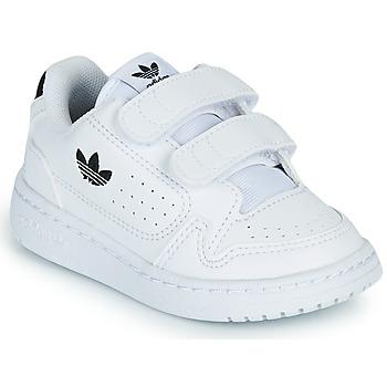 Skor Barn Sneakers adidas Originals NY 92 CF I Vit / Svart