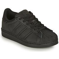 Skor Barn Sneakers adidas Originals SUPERSTAR C Svart