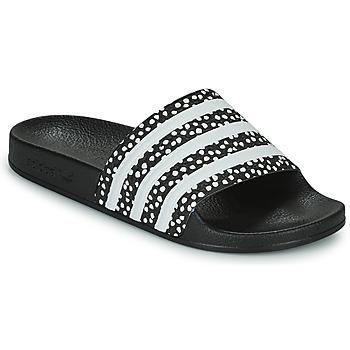 Skor Dam Flipflops adidas Originals ADILETTE W Svart / Vit