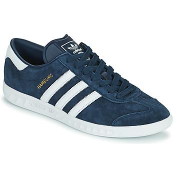 Skor Herr Sneakers adidas Originals HAMBURG Marin
