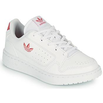 Skor Barn Sneakers adidas Originals NY 92 C Vit / Rosa