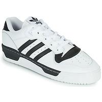 Skor Sneakers adidas Originals RIVALRY LOW Vit / Svart