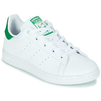 Skor Barn Sneakers adidas Originals STAN SMITH C SUSTAINABLE Vit / Grön
