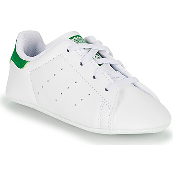 Skor Barn Sneakers adidas Originals STAN SMITH CRIB SUSTAINABLE Vit / Grön