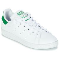Skor Barn Sneakers adidas Originals STAN SMITH J SUSTAINABLE Vit / Grön