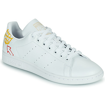 Skor Dam Sneakers adidas Originals STAN SMITH W SUSTAINABLE Vit / Flerfärgad