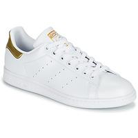 Skor Dam Sneakers adidas Originals STAN SMITH W SUSTAINABLE Vit / Guldfärgad