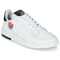 Skor Dam Sneakers adidas Originals SUPERCOURT Vit / Svart