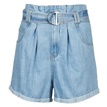 textil Dam Shorts / Bermudas Betty London ODILON Blå