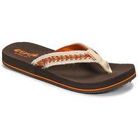 Skor Dam Flip-flops Cool shoe NUBE Brun