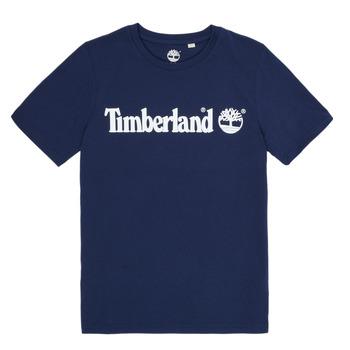 textil Pojkar T-shirts Timberland VUILL Marin