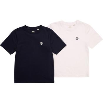 textil Pojkar T-shirts Timberland FONNO Flerfärgad