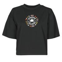 textil Dam T-shirts Converse CHUCK WOMENS WANDER TANK Svart