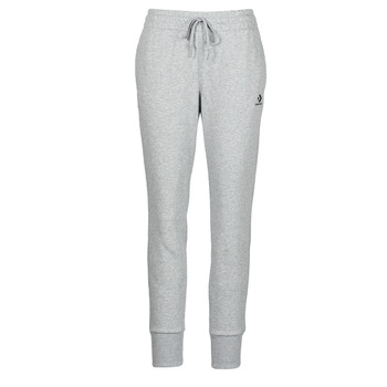 textil Dam Joggingbyxor Converse WOMENS EMBROIDERED STAR CHEVRON PANT FT Grå