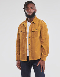 textil Herr Vindjackor Converse BUTTON DOWN SHIRT Brun