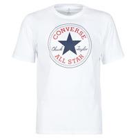 textil Herr T-shirts Converse NOVA CHUCK PATCH TEE Vit