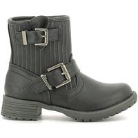 Skor Barn Boots Wrangler WG16205B Svart