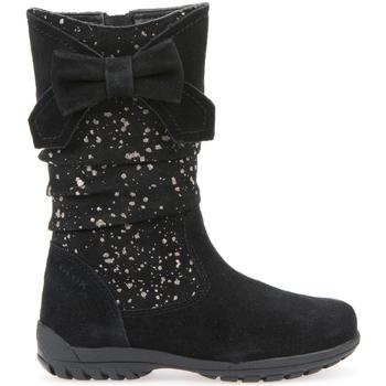 Skor Barn Boots Geox J6415F 0QM22 Svart