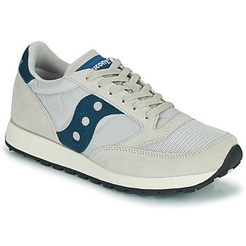 Skor Sneakers Saucony JAZZ VINTAGE Beige / Marin