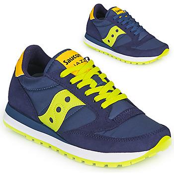 Skor Sneakers Saucony JAZZ ORIGINAL Blå / Gul