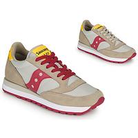 Skor Dam Sneakers Saucony JAZZ ORIGINAL Beige / Röd