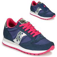 Skor Dam Sneakers Saucony JAZZ ORIGINAL Blå / Rosa